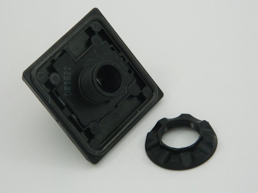 Draaiknop zwart hoofdschakelaar ABB OHB