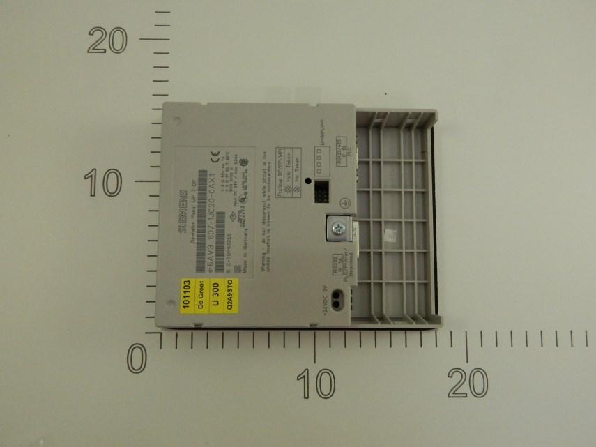 Besturingsmodule OP7/DP 6AV3 607-1JC20-0AX1