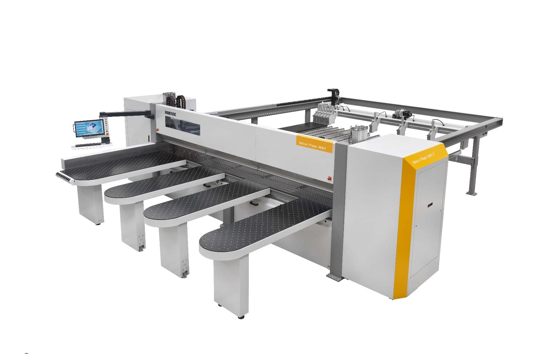 Biesse Selco Plast WN 7 CNC-gestuurde opdeelzaag