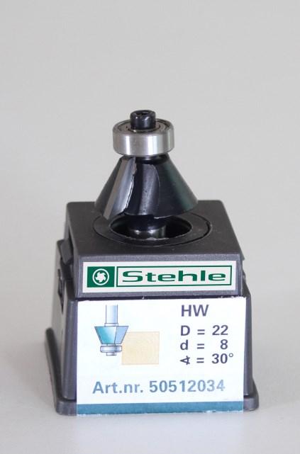 Fasefrees HM met kogellager 22,0x042/012x08,0 Z=2+L 30gr.