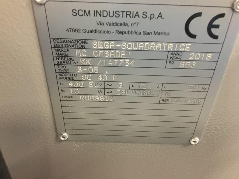 Casadei SC 40P Formaatzaag