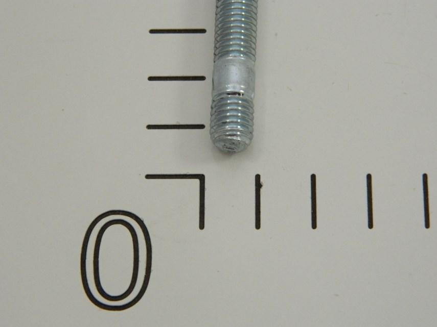 Tapeind (verzinkt) M8x30-5,8