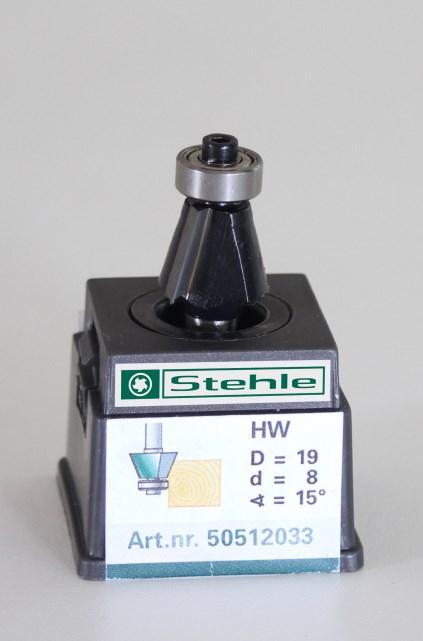Fasefrees HM met kogellager 19,0x045/015x08,0 Z=2+L 15gr.