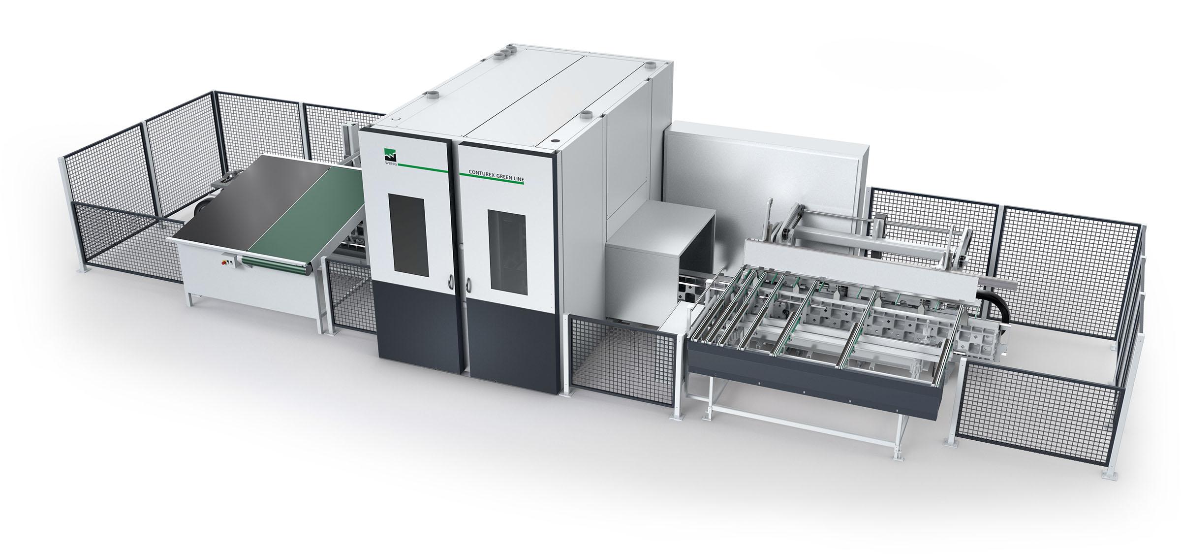 Weinig Conturex Greenline Plus CNC-bewerkingscentrum - Nu op voorraad!