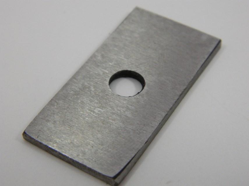 Metalen plaat