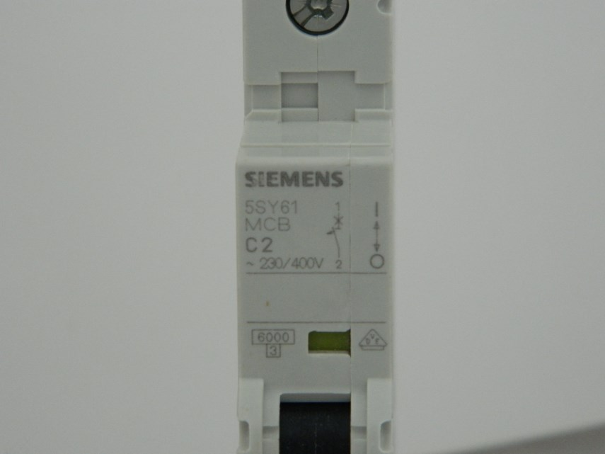 Automatische schakelaar 1P2AC 5SY6102-7