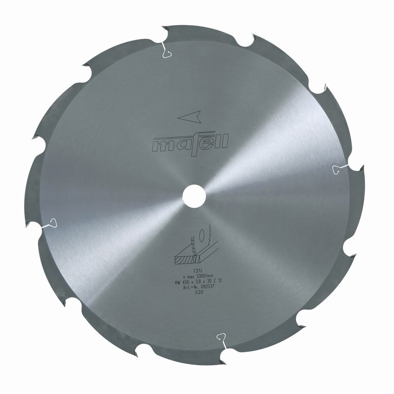 Mafell HM 450x2,5/3,8x30mm Z12 WZ Zaagblad