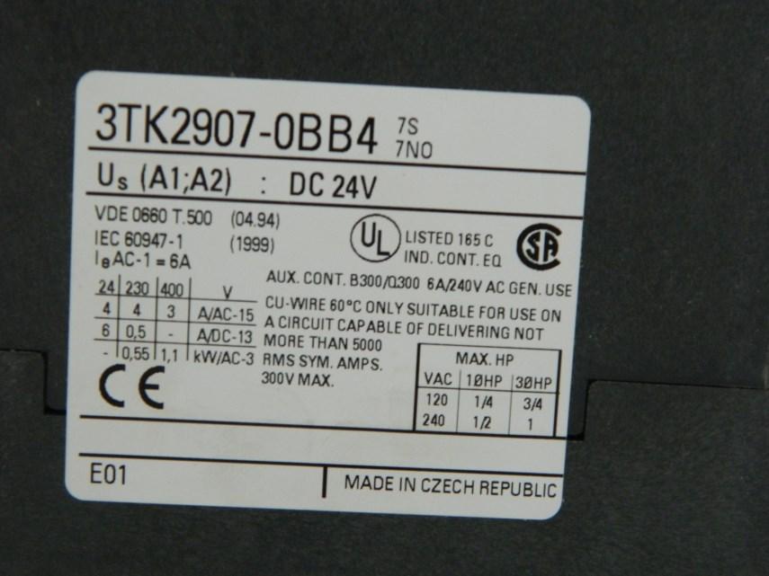 Module 3TK2907-0BB4 24VCC