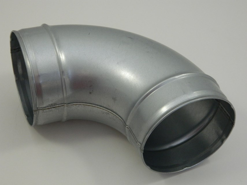 Gladde bocht D250 - 90°