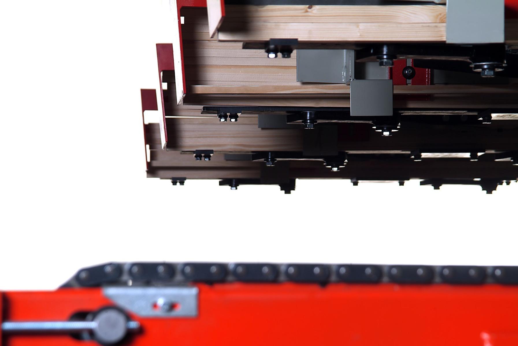 Weinig Highmech automatische invoer/uitvoer voor schaafmachine