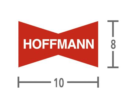 Hoffmann wiggen W2 9,5 mm - 1.000 stuks
