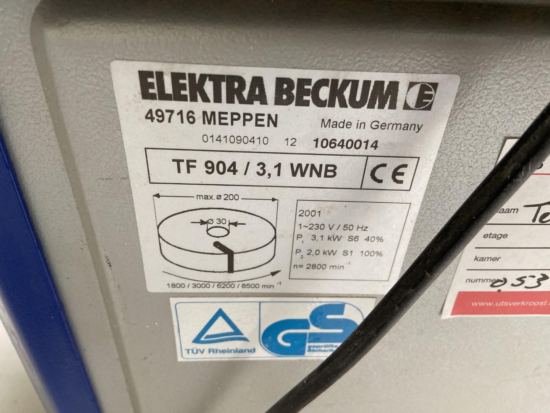 Elektra Beckum TF904 gebruikte tafelfrees