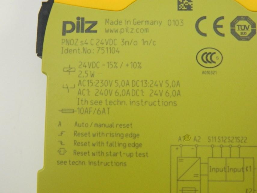 Veiligheidsrelais Pilz PNOZ S4C 3S/1 24V