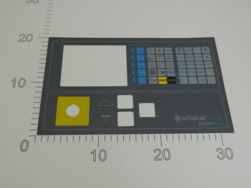 Folie Control plus 4 voor F45