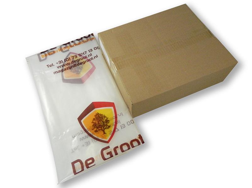 Universeel Plastic zak D=600mm 950x1500mm Verpakking van 25 stuks