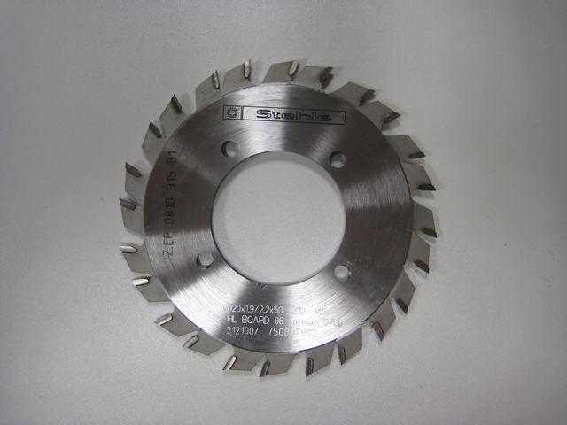 Set voorritsbladen (Rapido) D120x50 mm