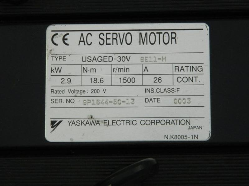 Servomotor Yaskawa 30V22 Usaged