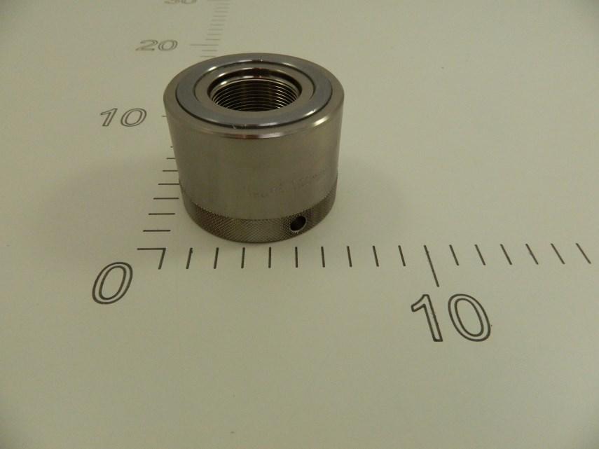 Hydraulische moer Aluminium M33x1,5