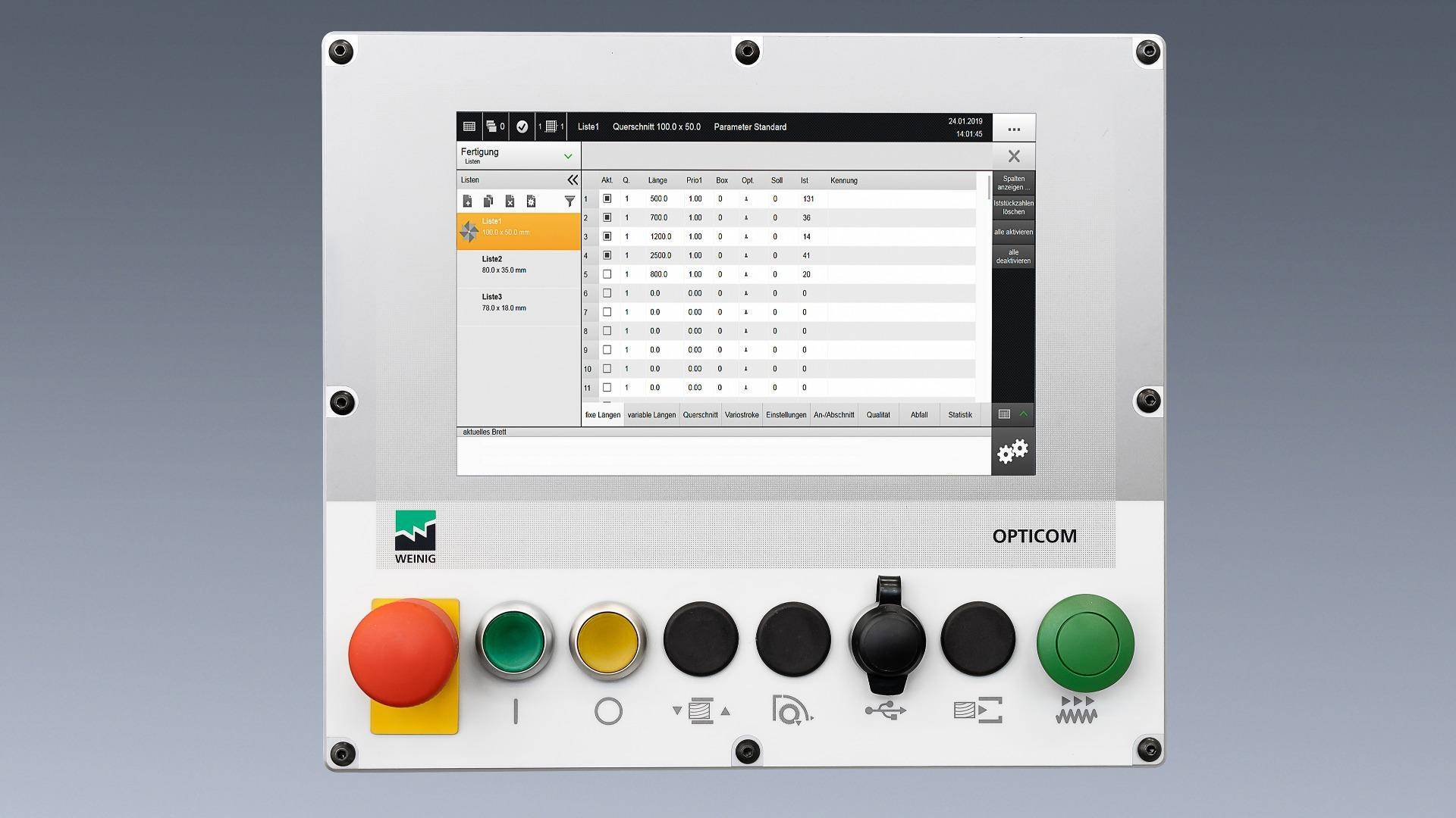 Weinig OptiCut S 50+ automatische afkortzaag