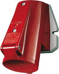 WCD 5P16A/ 400 V rood
