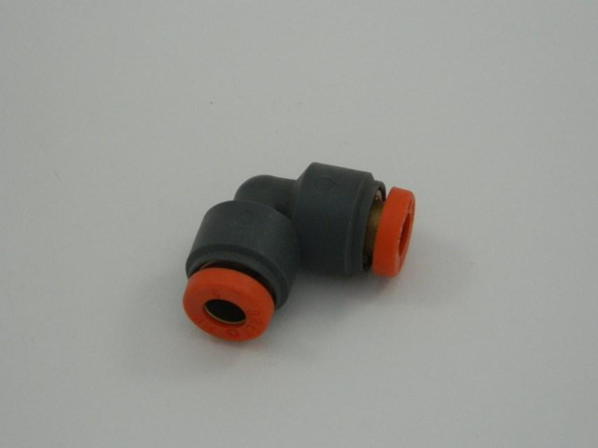 Koppeling Haaks 6 mm-6 mm