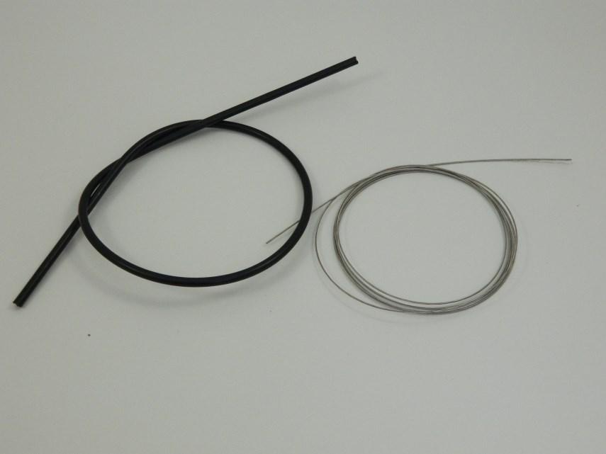 Kabel tbv verstelling