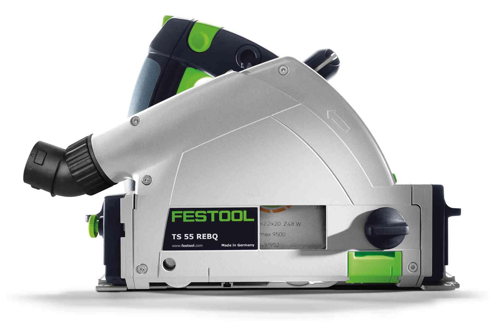Festool TS 55 REBQ-PLUS-FS Invalzaag Set  - UITVERKOCHT