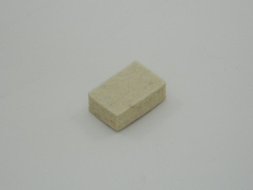 Schraper blok 18x10 L35