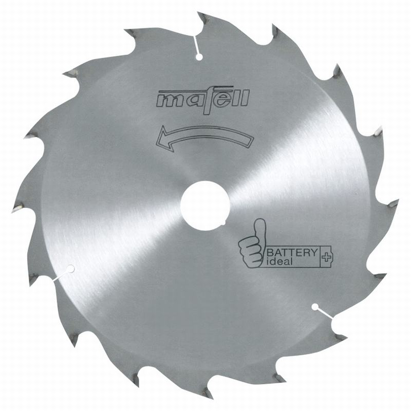 Mafell HM 185x1,2/1,8x20mm Z16 WZ Zaagblad