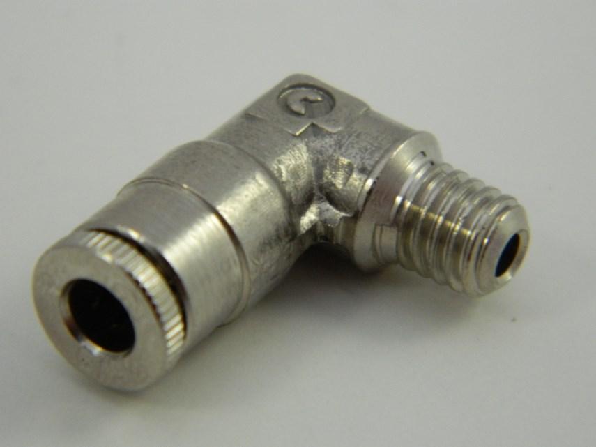 Insteekkoppeling haaks m6x4 mm