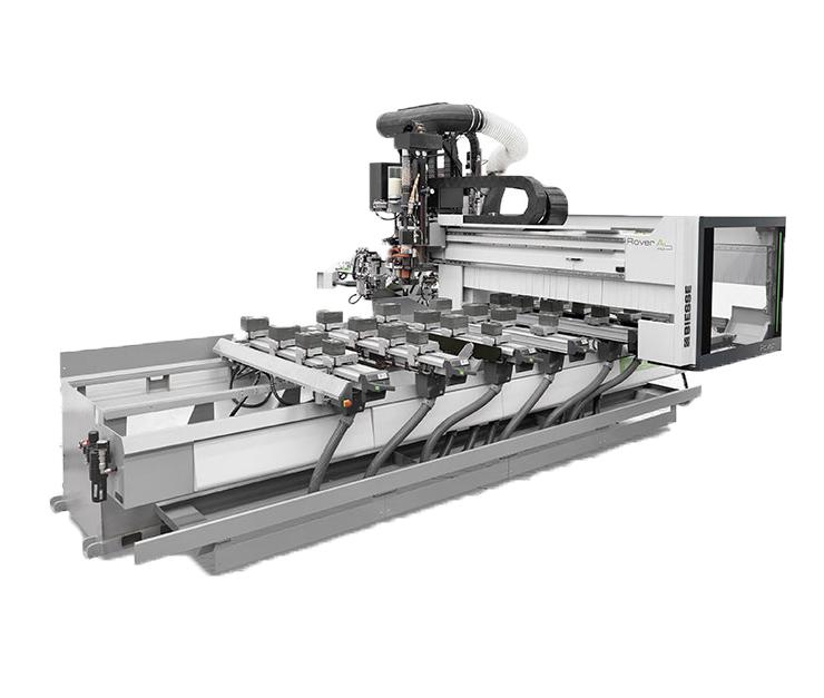 Biesse Rover A Edge CNC-gestuurde freesmachine