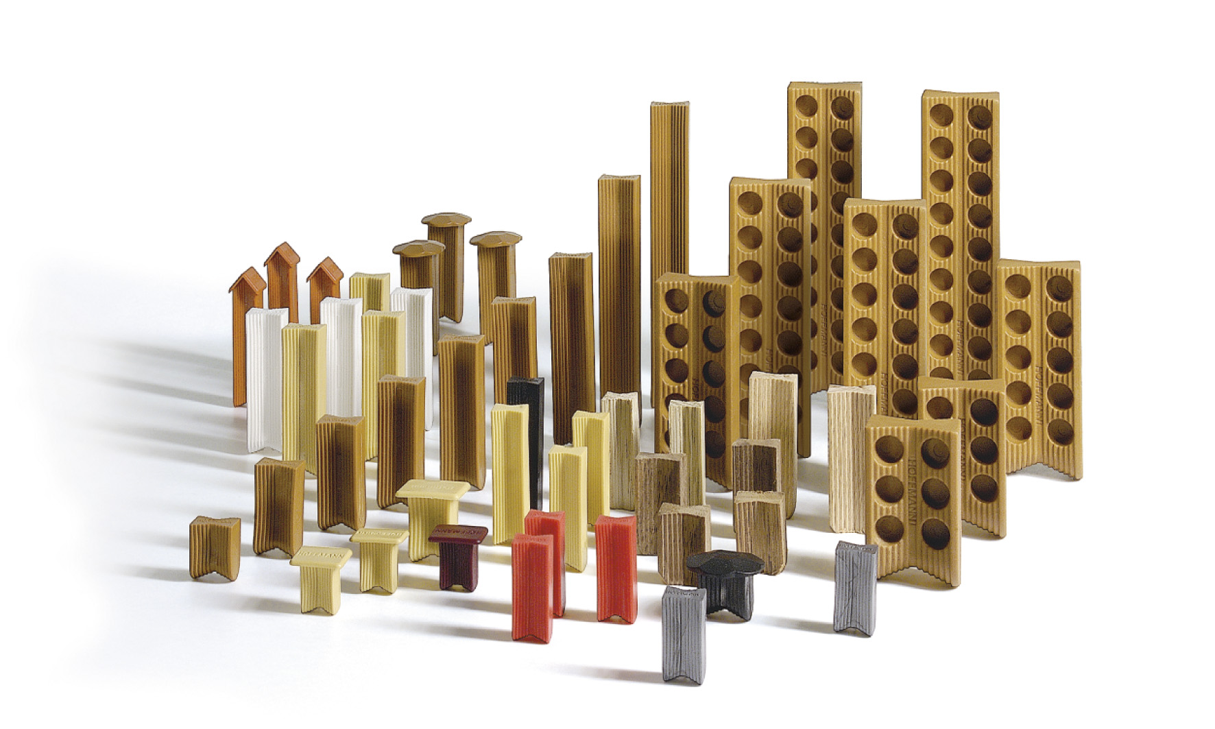 Hoffmann wiggen doos a 1000 stuks W2 22,0 mm