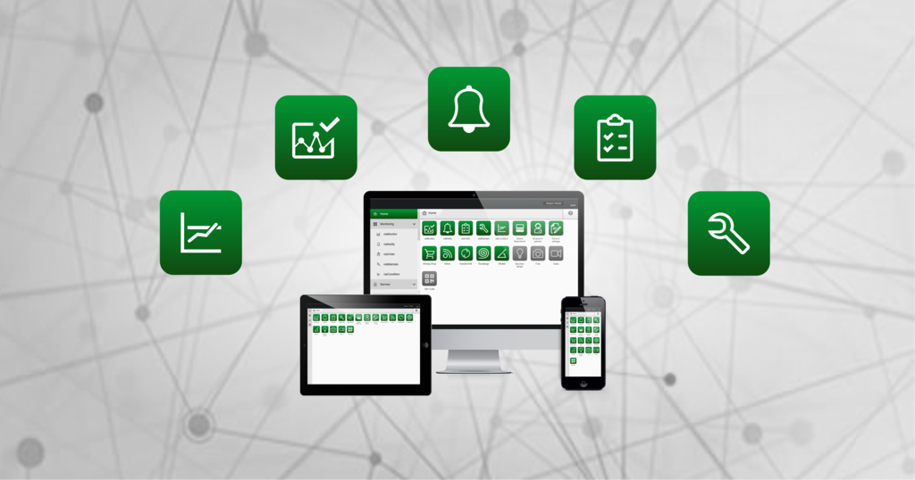Weinig App Suite machine platform