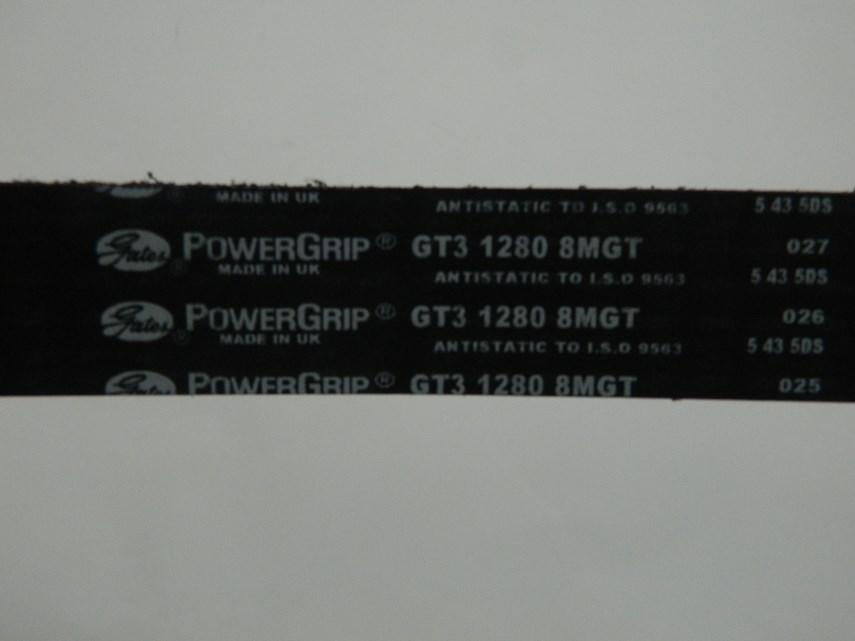 Getande riem GT2/1280-8MGT-30