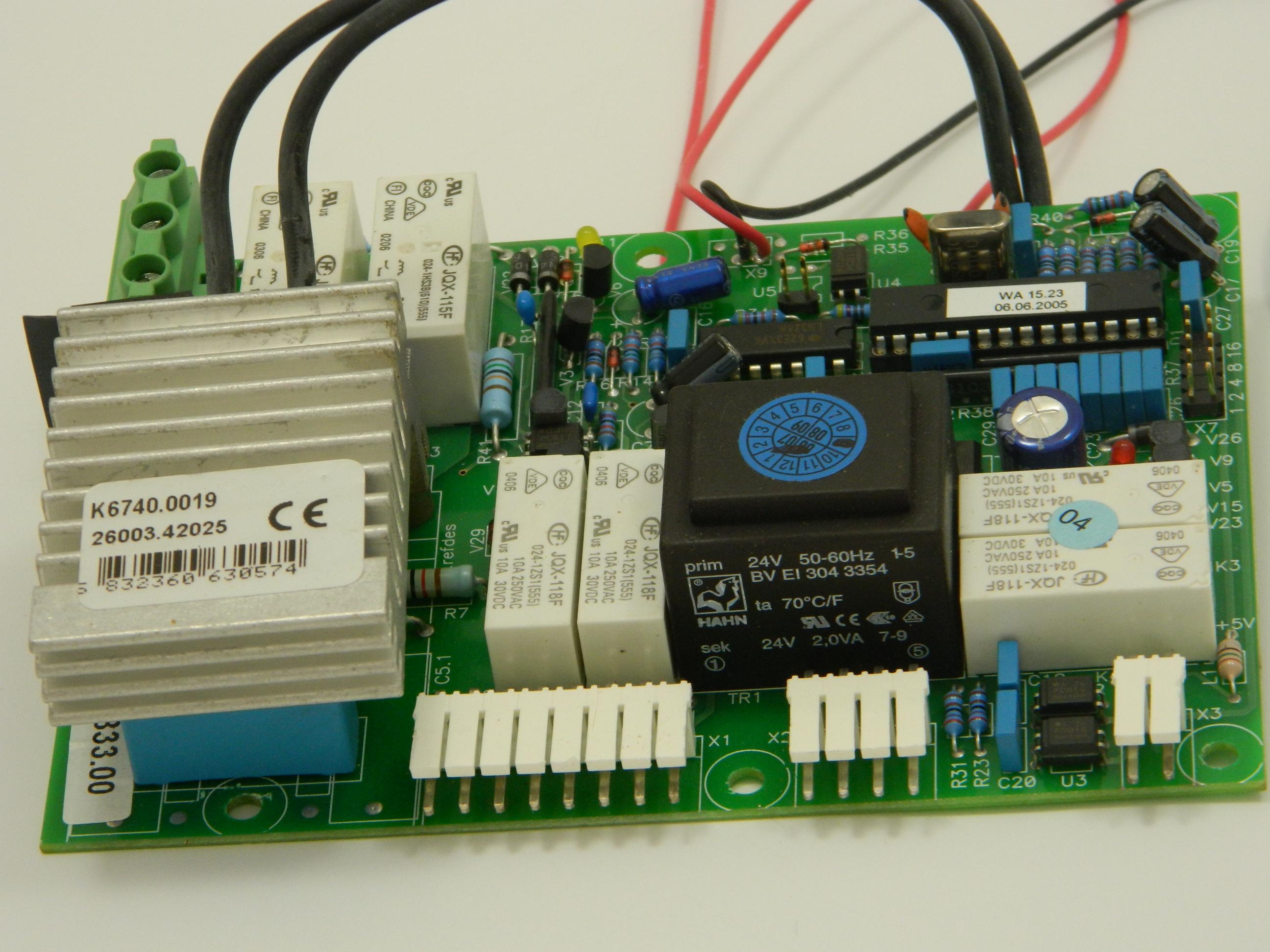 Remprint 200/420 V voor WA80/WA8