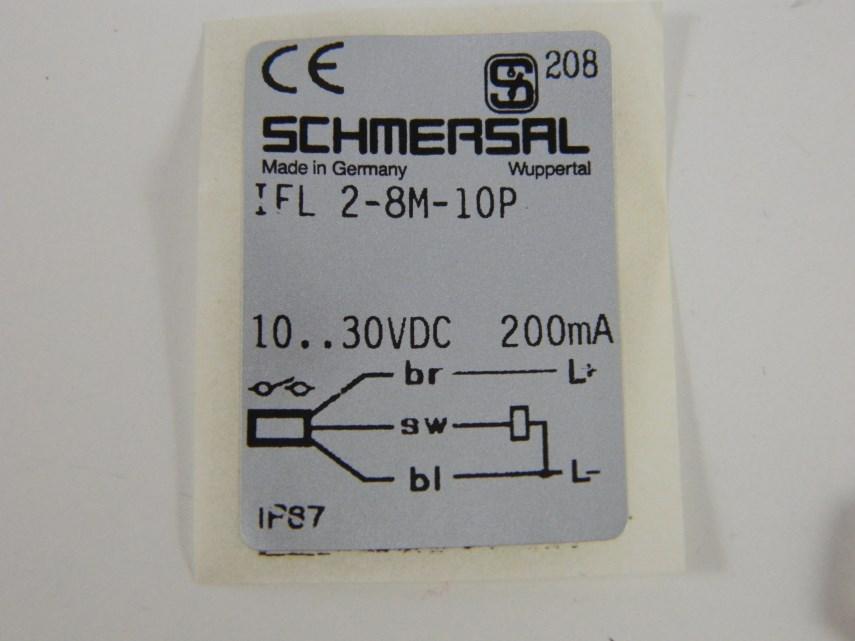 Benaderingsschakelaar IFL2-8M-10P