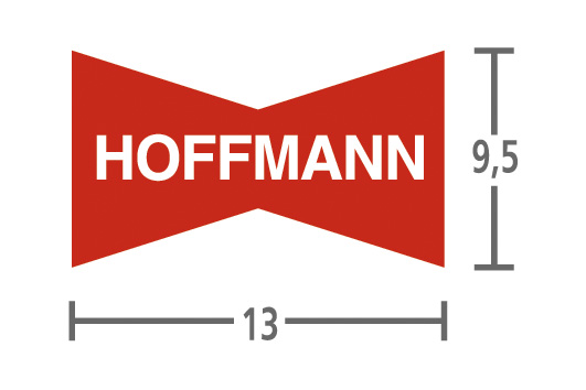 Hoffmann wiggen W3 19,0 mm - 1.000 stuks