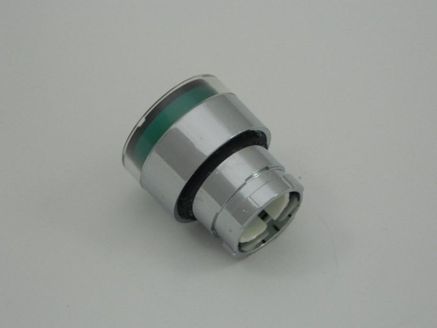 Lichtgevende drukknop ZB2-BW33 groen